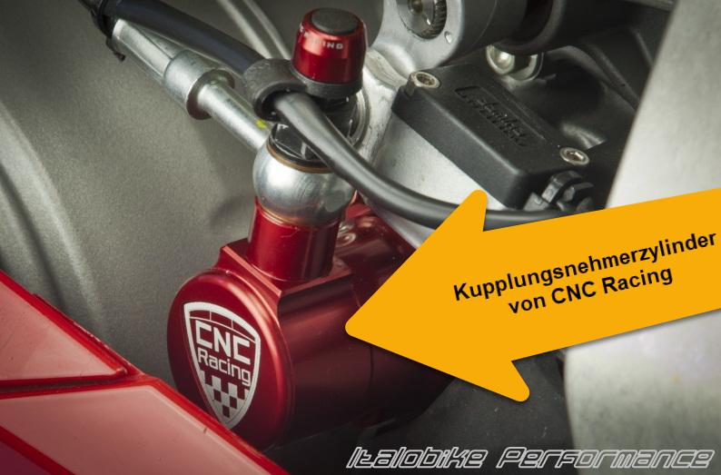 Upgrade Kupplungsnehmerzylinder von CNC Racing