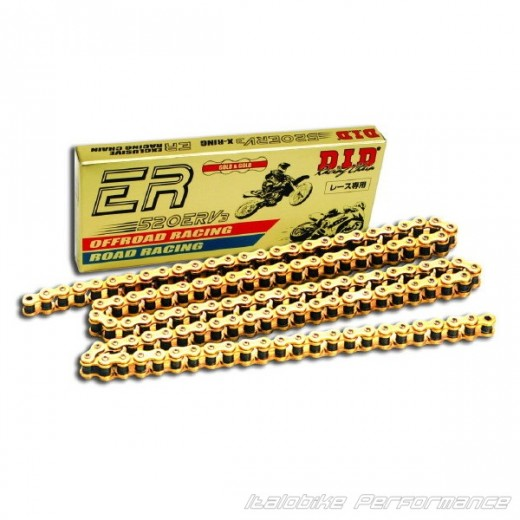 D.I.D Kette 520ERV3 98 ( Gold ) X-Ring RACING