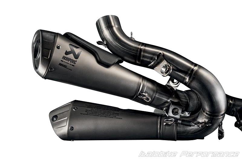 Akrapovic Slip On Exhaust Ducati   Panigale