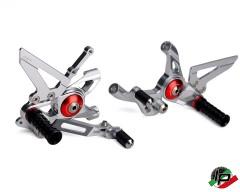 AEM Factory Fußrastenanlage Ducati Panigale 899, 959, 1199, 1299 & V2